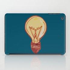 light bulb iPad Case