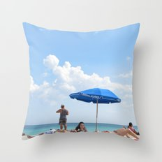 Beachin' Throw Pillow