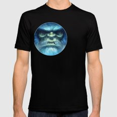 Abominable Snowman Mens Fitted Tee SMALL Black