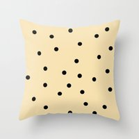 Chocolate Chip Throw Pillow