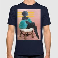 Harem Aria Mens Fitted Tee Navy SMALL