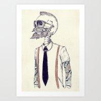 The Gentleman Becomes A … Art Print