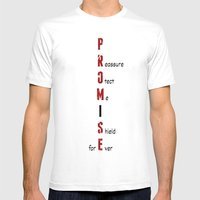 BWR No. 4 Promise (White… Mens Fitted Tee White SMALL