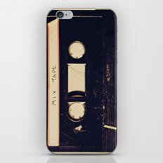 mix tape iPhone & iPod Skin