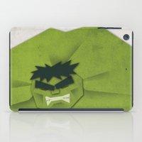 Paper Heroes - Hulk iPad Case