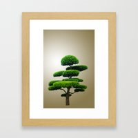 Just a tree Framed Art Print