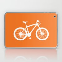 Mountain Bike Orange Laptop & iPad Skin