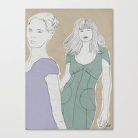 They  Canvas Print