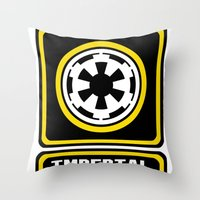 Imperial Army Throw Pillow