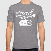 Super Rad Mens Fitted Tee Tri-Grey SMALL