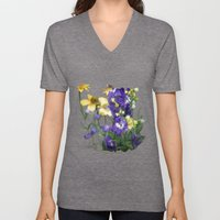 Wildflowers / Nature, Fl… Unisex V-Neck