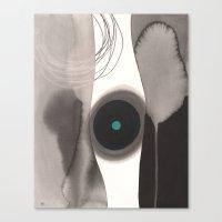 Friction Canvas Print