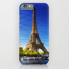 The Pinnacle of Light - Eiffel Tower & River Seine - Paris iPhone 6 Slim Case