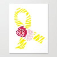 Endometriosis Awareness … Canvas Print