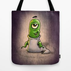 One eye'd wotsit Tote Bag