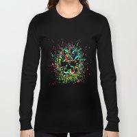 COLOUR SKULL  Long Sleeve T-shirt