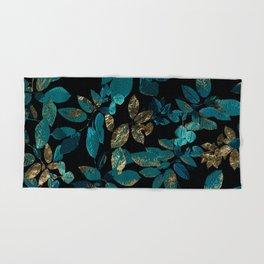 Hand & Bath Towel - Seamless Blossom Pattern - Eduardo Doreni