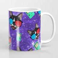 Nerdy Cat Mug