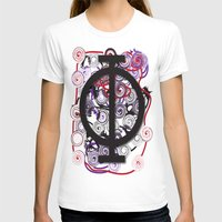 Golden Beauty Womens Fitted Tee White SMALL