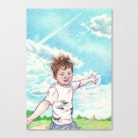 Canvas Print featuring Flight by Aiko Tagawa
