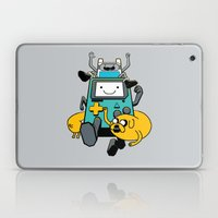 Portable Time! Laptop & iPad Skin