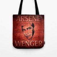 Arsene Wegner Tote Bag