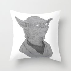 Luminous beings are we  Throw Pillow