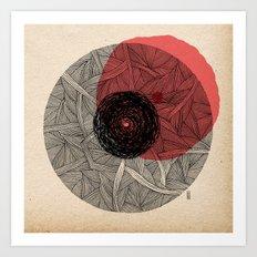 - the love - Art Print