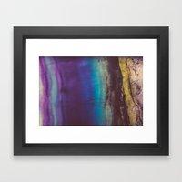 Bohemian Blue Earth  Framed Art Print
