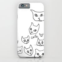 iPhone & iPod Case featuring Cats Cat by Kelly Reynolds