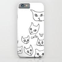 Cats Cat iPhone 6 Slim Case