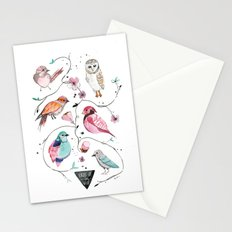 BIRDS OF THE WILD Stationery Cards