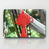 Chinese Knot (Red) iPad Case