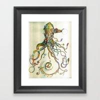 The Impossible Specimen Framed Art Print