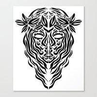 Virgo Canvas Print