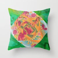 Our Lady Of Guadalupe II Throw Pillow