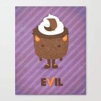 Devil's Food Cake Canvas Print