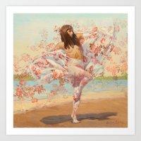 Maigold Art Print