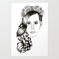 Lana Del lovely Art Print