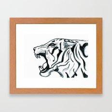 Let Him Roar Framed Art Print