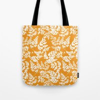 Spring Orange Tote Bag