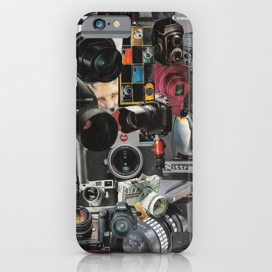 COLLAGE LOVE: How Do You See the World? iPhone & iPod Case