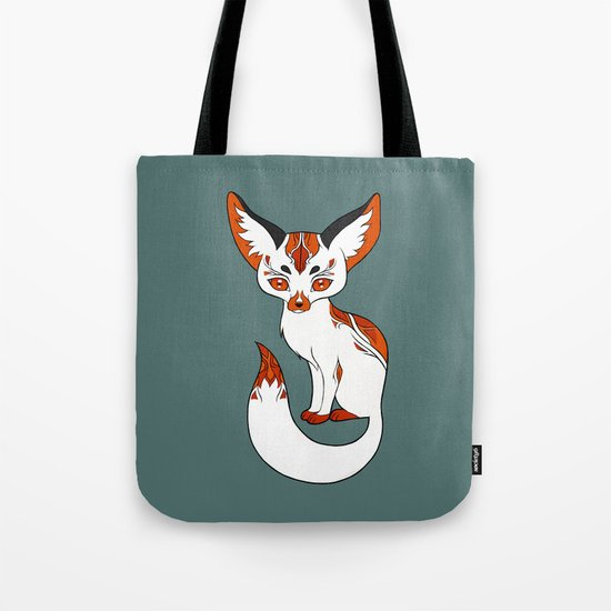 Mysterious Fox Tote Bag