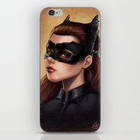 Cute Catwoman Painting  iPhone & iPod Skin