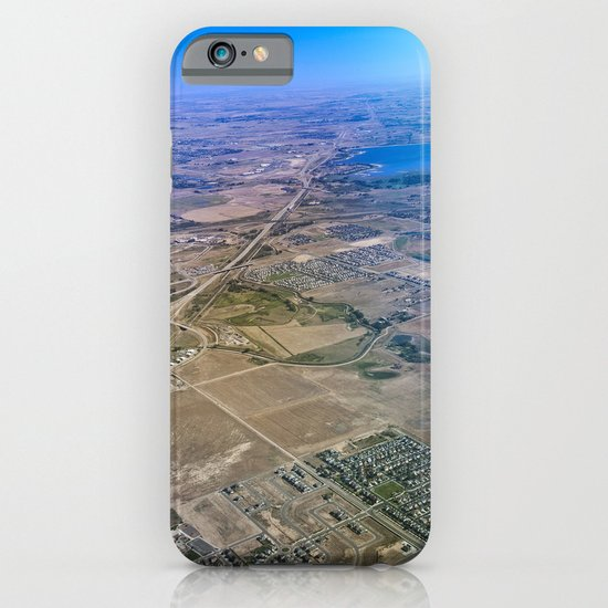 Superman's perspective iPhone & iPod Case