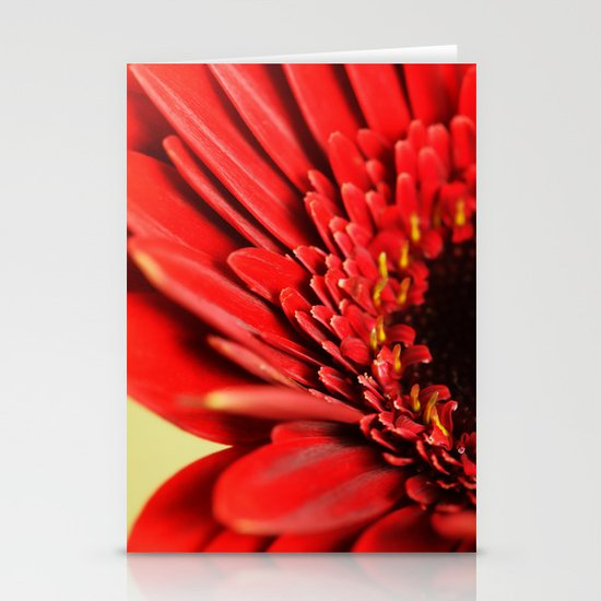 Flower Stationery Card