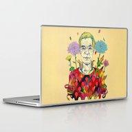 Laptop & iPad Skin featuring Timothy Leary by Natsuki Otani