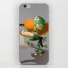 Roller Derby! iPhone & iPod Skin
