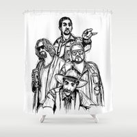 Let's Roll Shower Curtain
