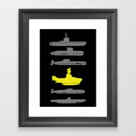 Know Your Submarines Framed Art Print